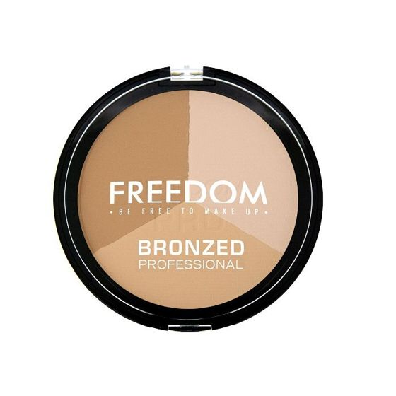 FREEDOM MAKEUP Bronzed WARM LIGHTS