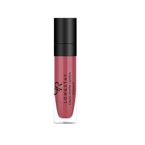 GOLDEN ROSE - Longstay Liquid Matte Lipstick - Matowa pomadka do ust w płynie 04