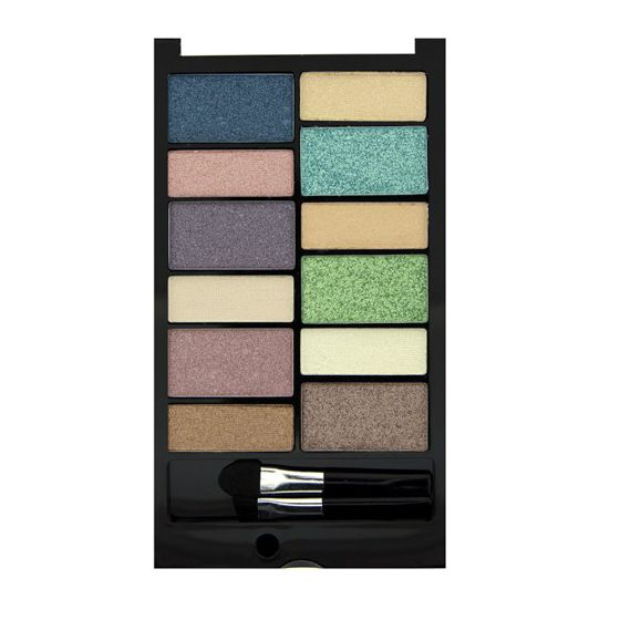 MAKEUP REVOLUTION Beach & Surf Paleta 12 cieni