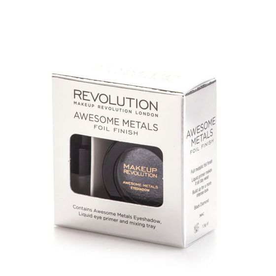 MAKEUP REVOLUTION Eye foils cień BLACK DIAMOND