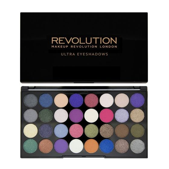 MAKEUP REVOLUTION Paleta 32 cieni EYES LIKE ANGELS