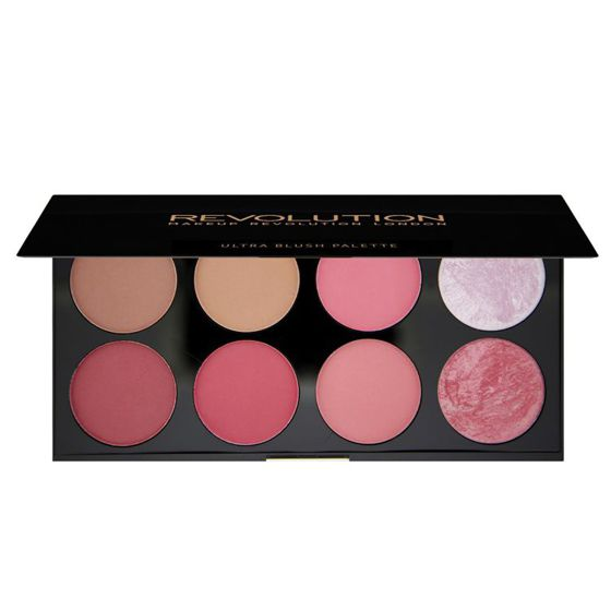 MAKEUP REVOLUTION Ultra Blush Palette PALETA RÓŻY Sugar and Spice