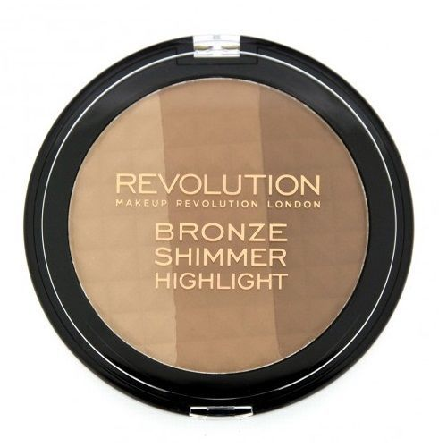 MAKEUP REVOLUTION Ultra Bronze shimmer and highlight