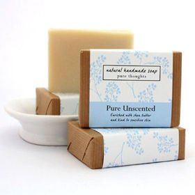 Pure Thoughts Unscented Soap - mydło naturalne bezzapachowe 120g