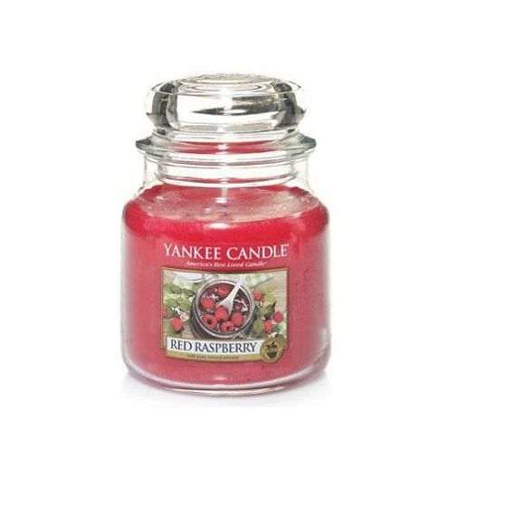 Red Raspberry - SŁOIK ŚREDNI Yankee Candle