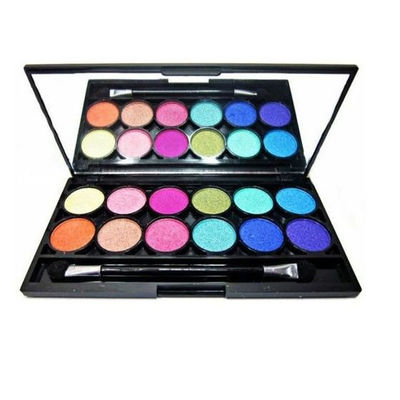 TECHNIC Paleta 12 cieni Electric Eyes Palette Bright