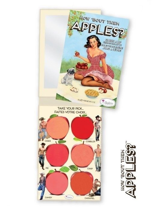 the Balm HOW 'BOUT THEM APPLES? Paleta róży i szminek 20g