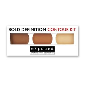 EXPOSED Bold Definition Contour Kit  - paleta do konturowania na mokro