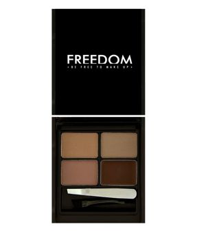 FREEDOM MAKEUP Zestaw do brwi Eyebrow MEDIUM-DARK