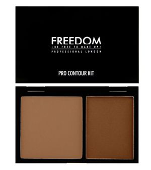 Freedom Makeup PRO CONTOUR Zestaw do konturowania MEDIUM 02