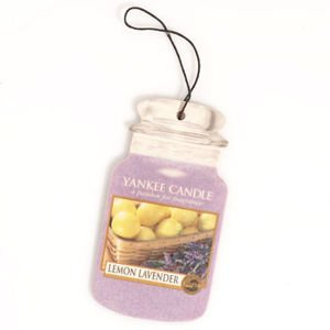 Lemon Lavender CAR JAR Yankee Candle
