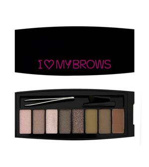 MAKEUP REVOLUTION I Heart My BROWS Zestaw do brwi