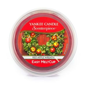 Red Apple Wreath WOSK SCENTERPIECE Yankee Candle