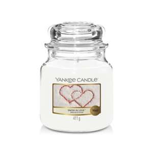 Snow In Love SŁOIK ŚREDNI Yankee Candle