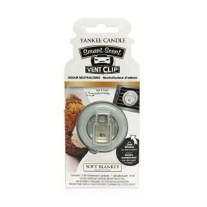 Soft Blanket CAR VENT CLIP Yankee Candle