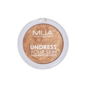 MUA Undress Your Skin ROZŚWIETLACZ DO TWARZY Golden Afterglow