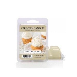 country candle wosk zapachowy vanilla cupcake 64g