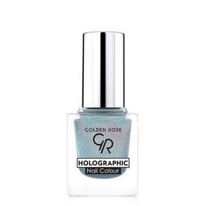 golden rose holographic nail colour lakier do paznokci 06
