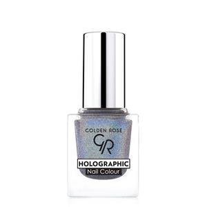 golden rose holographic nail colour lakier do paznokci 07