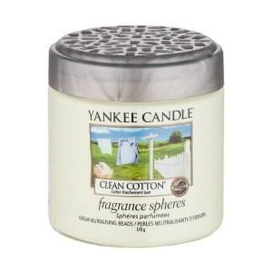 yankee candle clean cotton fragrance shapers kuleczki zapachowe