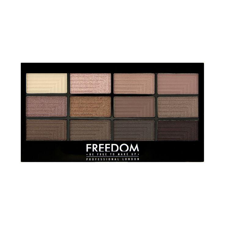 Freedom Makeup Pro 12 Audacious 3 Paleta Cieni Cena Opinie