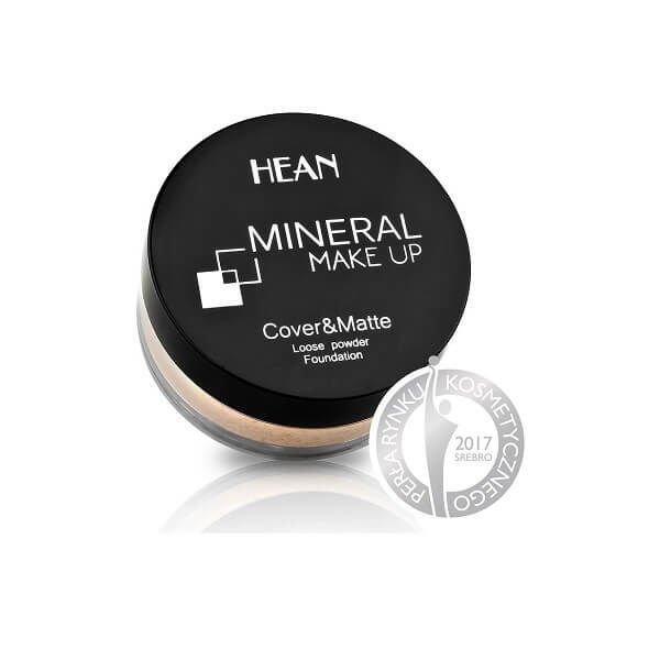 Hean Puder Mineralny Sypki Mineral Cover Matte 900 Porcelain Cena Opinie Drogeria Kosmetykomania Pl