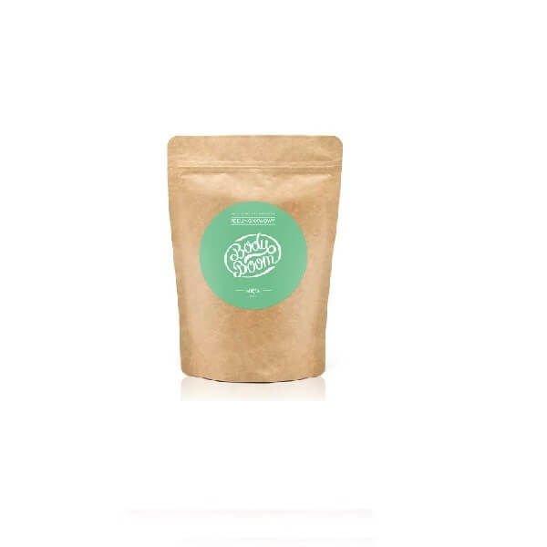 7eaa1a307094d0 BodyBoom Peeling kawowy Mięta Mały 30g | cena, opinie | Drogeria  kosmetykomania.pl