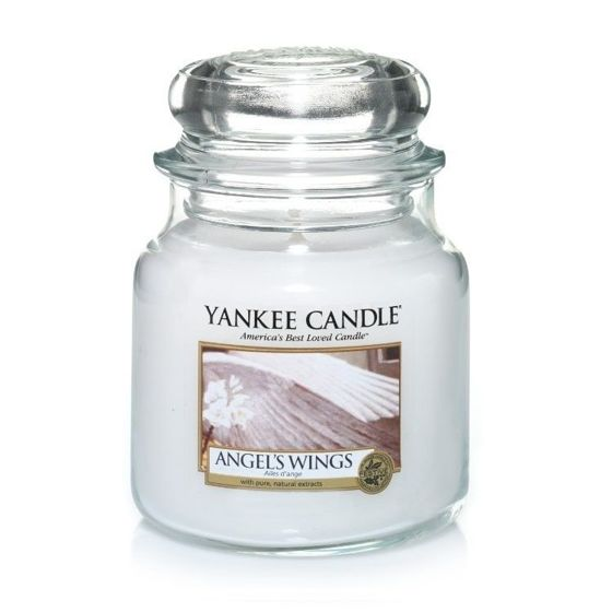 Angel Wings - SŁOIK ŚREDNI Yankee Candle