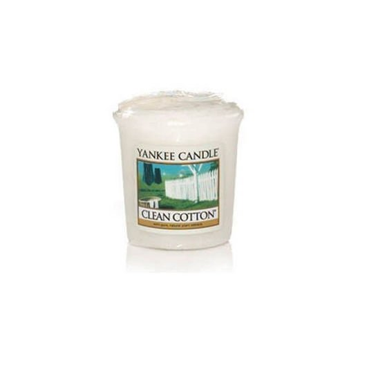 CLEAN COTTON - SAMPLER Yankee Candle