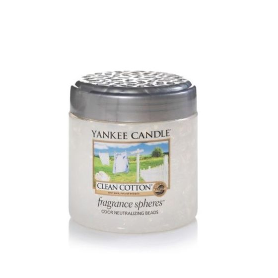 Clean Cotton FRAGRANCE SPHERES Yankee Candle - kuleczki zapachowe