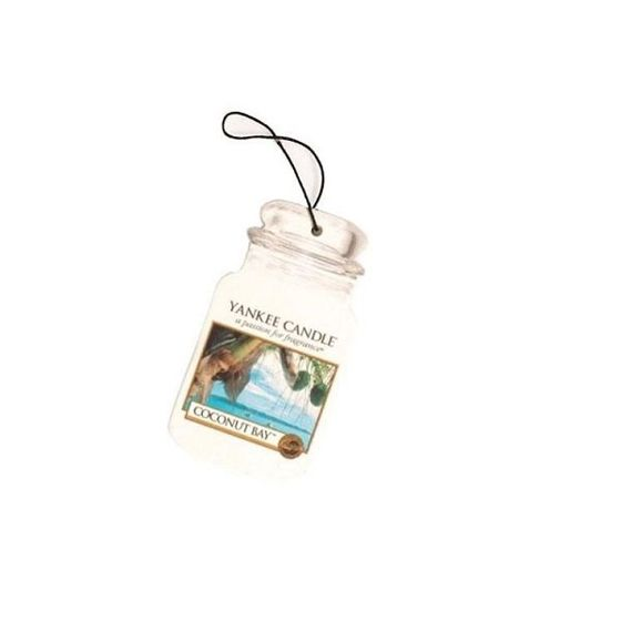 Coconut Bay CAR JAR Yankee Candle