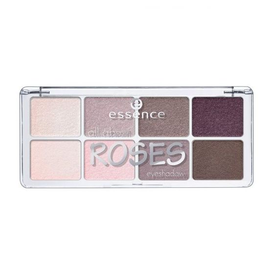 ESSENCE all about ROSES Paleta 8 Cieni do powiek 03