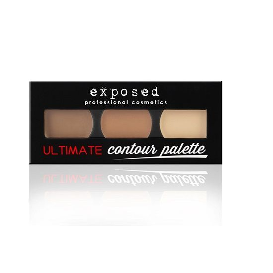 EXPOSED Contour Palette - paleta do konturowania na mokro