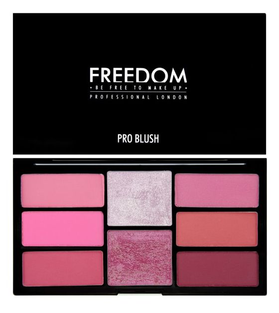 FREEDOM MAKEUP Pink And Baked PALETA RÓŻY