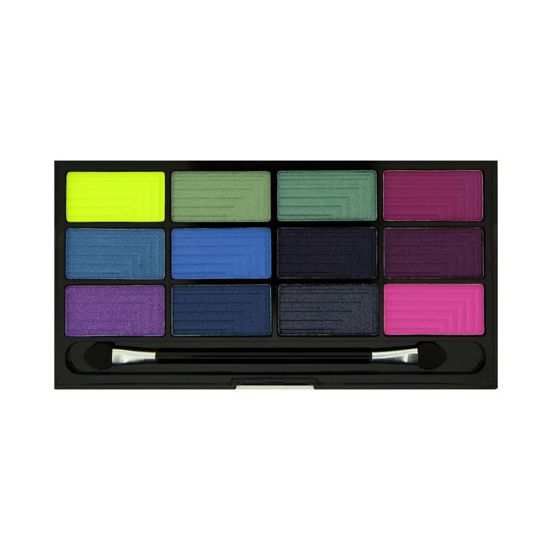 FREEDOM MAKEUP Pro 12 Chasing Rainbows PALETA CIENI