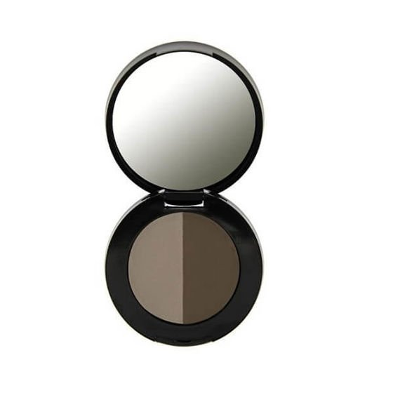 Freedom Makeup Cień do brwi Duo Brow Powder Medium Brown