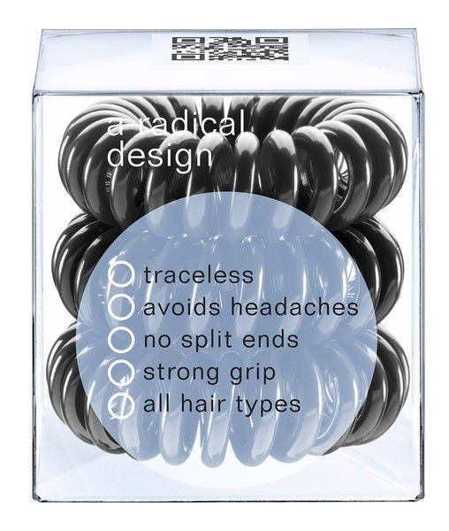 Invisibobble Gumka do włosów True Black 3 szt