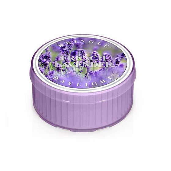 KRINGLE CANDLE Świeczka Coloured Daylight FRENCH LAVENDER