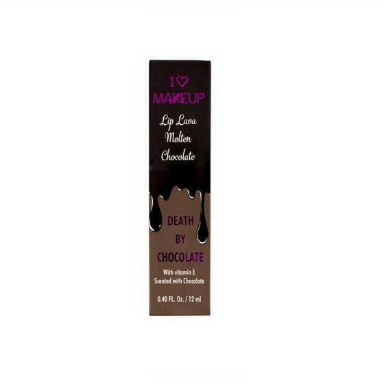 MAKEUP REVOLUTION Błyszczyk Lip Lava Molten Chocolate DEATH BY CHOCOLATE