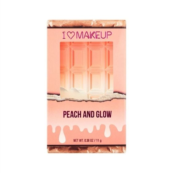 Makeup Revolution I Heart Chocolate Peach And Glow