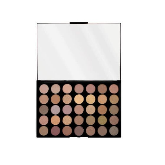 Makeup Revolution Pro Hd Commitment Paleta 35 cieni do powiek