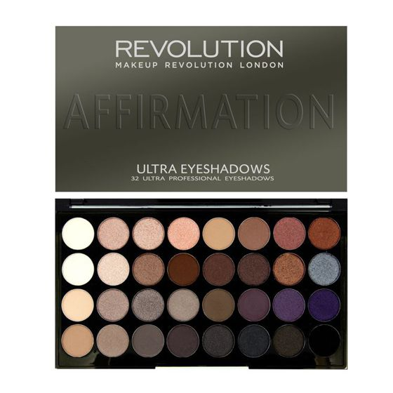 Makeup Revolution Paleta 32 cieni do powiek Affirmation