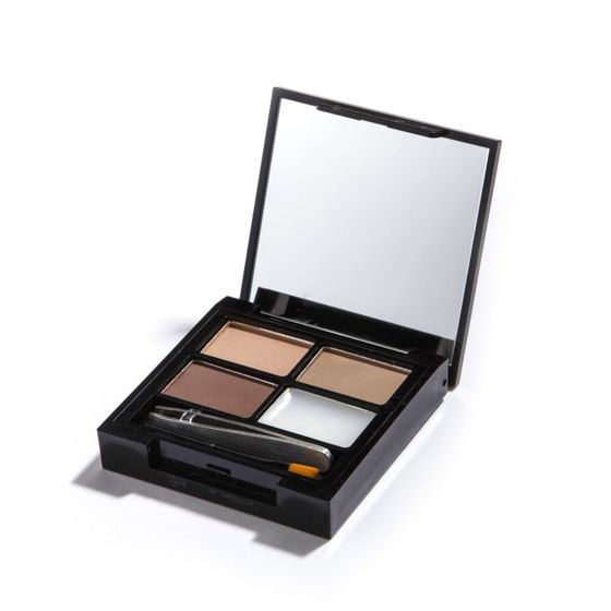 MAKEUP REVOLUTION Zestaw do brwi Focus & Fix Light Medium