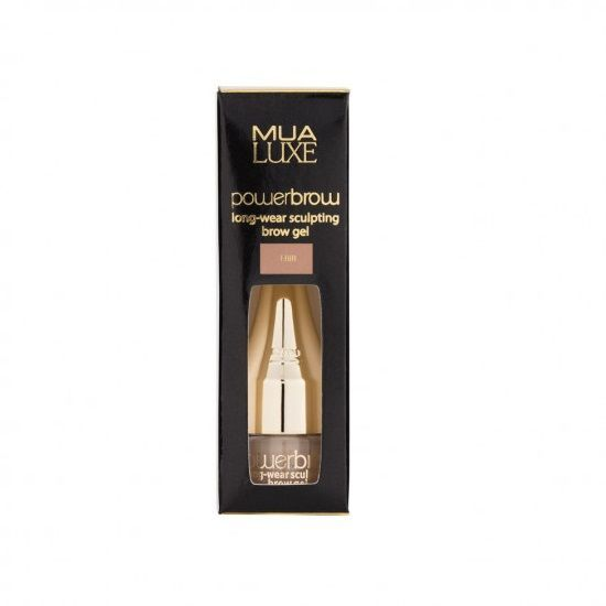 MUA Luxe Power Brow Sculpting Gel - Żel do brwi FAIR