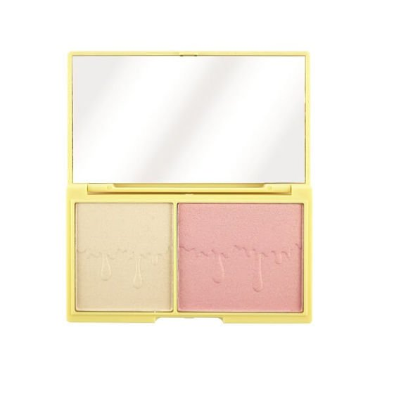 Makeup Revolution I Heart Chocolate Light and Glow Paleta do konturowania twarzy