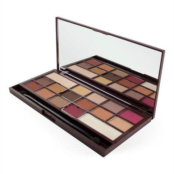 Makeup Revolution Paleta cieni do powiek Chocolate Elixir