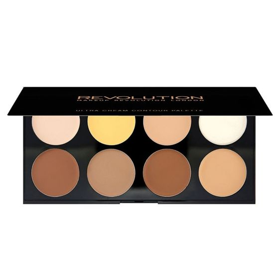 Makeup Revolution Ultra Cream Contour Palette Paleta do konturowania