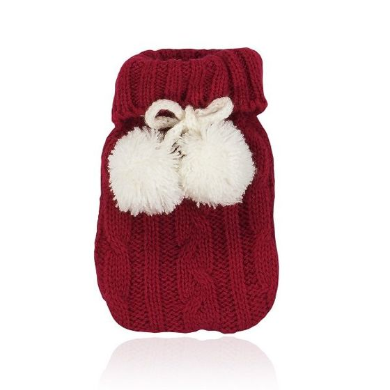 NATURAL PRODUCTS Red Pom Pom Hand Warmer - Ogrzewacz do dłoni