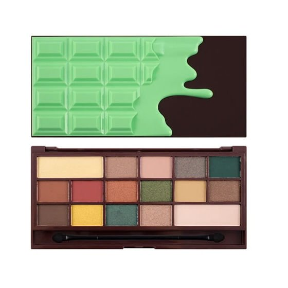 Makeup Revolution Paleta cieni do powiek Mint Chocolate