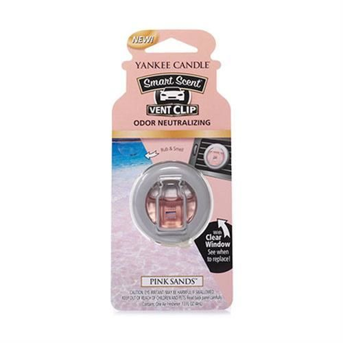 Pink Sands CAR VENT CLIP Yankee Candle